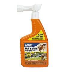 TERRO® Tick & Flea Yard Spray