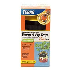 TERRO® Wasp & Fly Trap Plus Fruit Fly
