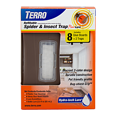 TERRO® Refillable Spider & Insect Trap Plus Lure - 3-Pack